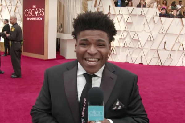 'Cheer' star Jerry Harris at The Oscars
