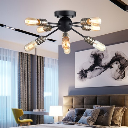 TZOE 8-Light Sputnik Chandelier