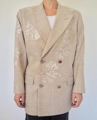 Veritable Double Breasted Vintage Blazer