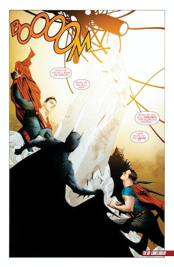 Batman Superman Chaos Shard Wonder Woman