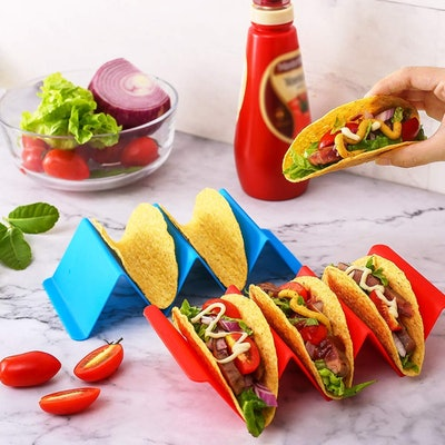 Aichoof Colorful Taco Holder Stands (5-Pack)