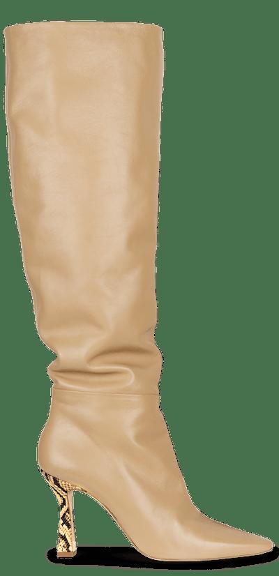 Lina Long Boot Toast