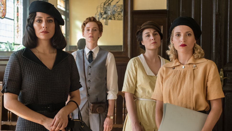 Cable Girls will end on it's fifth and final season.