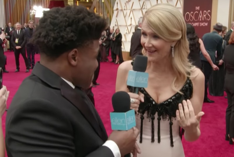 Laura Dern Mat Talked 'Cheer's Jerry Harris On The Oscars Red Carpet
