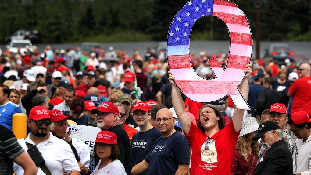 Why QAnon, the wild Trump-era conspiracy theory, will ...