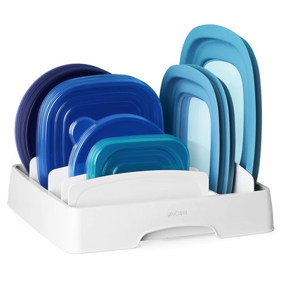 YouCopia 50172 StoraLid Food Container Lid Organizer