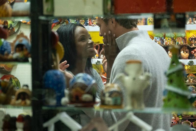 Natasha and Peter on The Bachelor