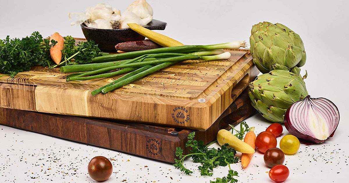 This $15 Beautiful Cutting Board Is Resistant To Cuts, Nicks, & Scratches