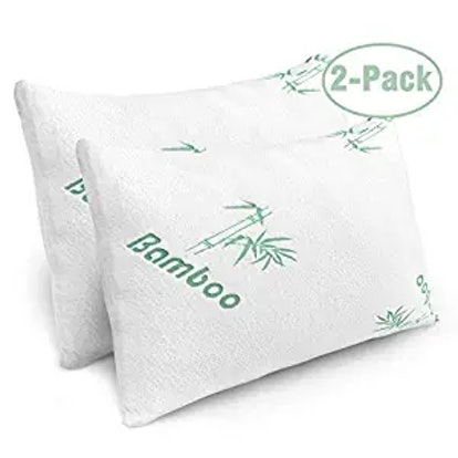 PLX Memory Foam Bed Pillows (2-Pack)