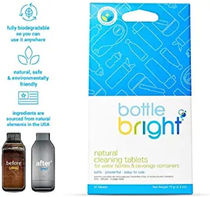 Bottle Bright Bottle & Hydration Pack Cleaning Tablets
