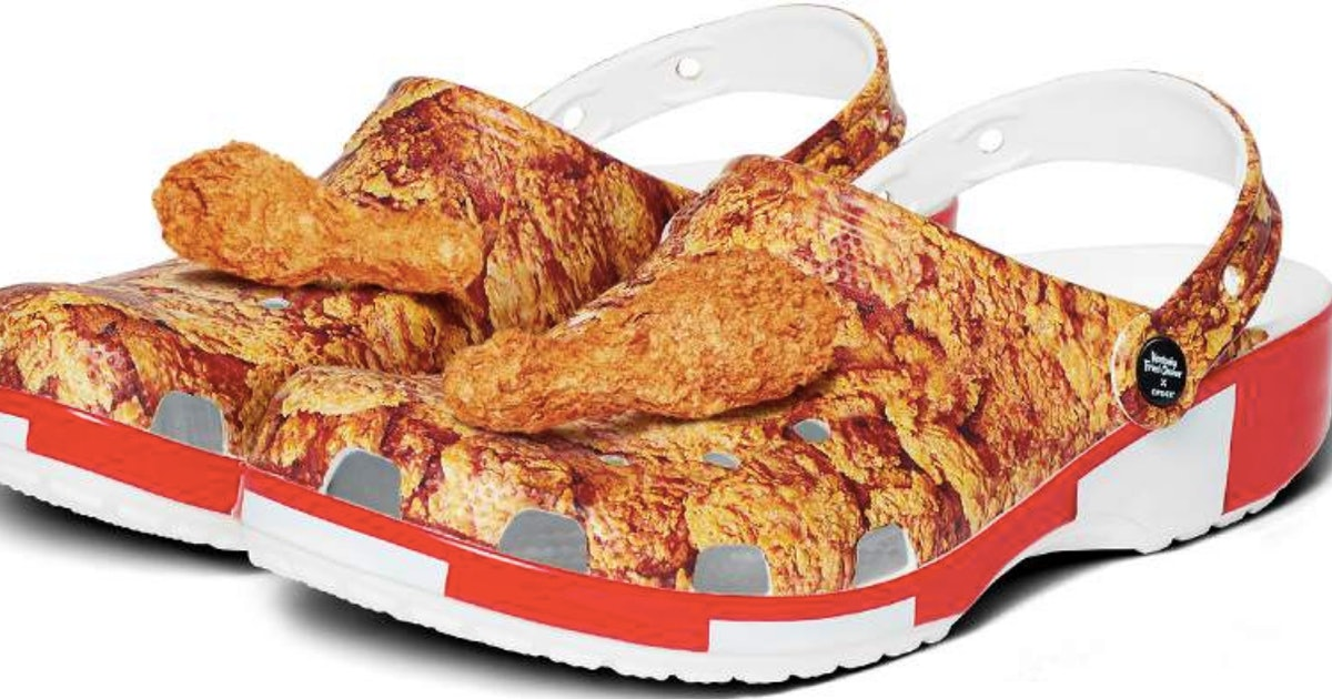 KFC Crocs Are Coming & Yes, They Look Crispy & Delicious