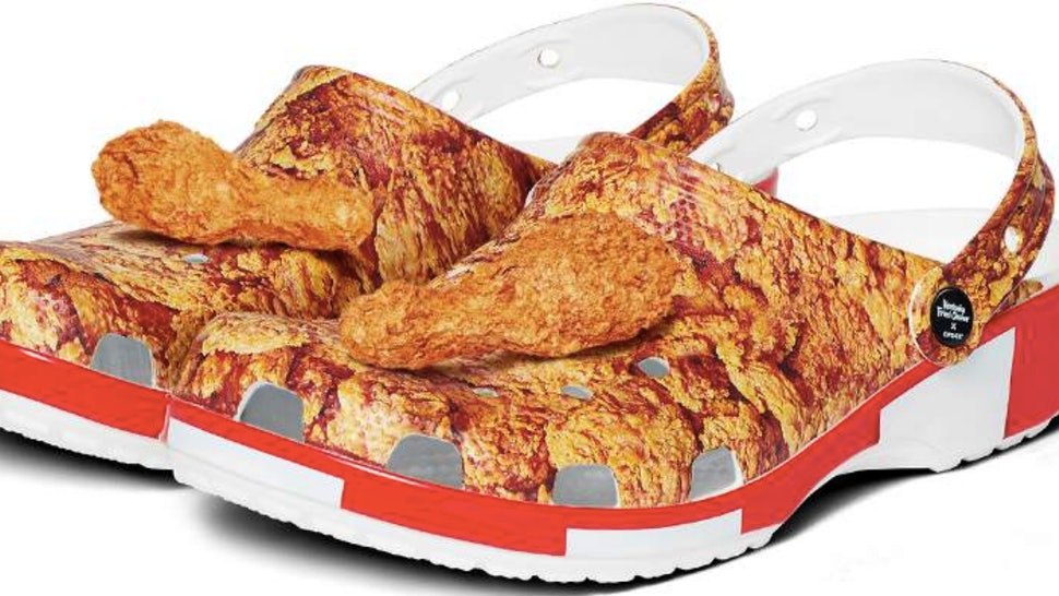 Crocs and KFC are announcing their collaboration for Spring 2020