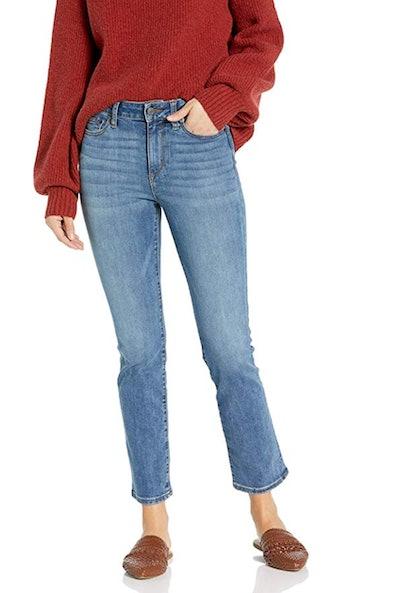 Goodthreads Women's Mid-Rise Slim Straight Jeans