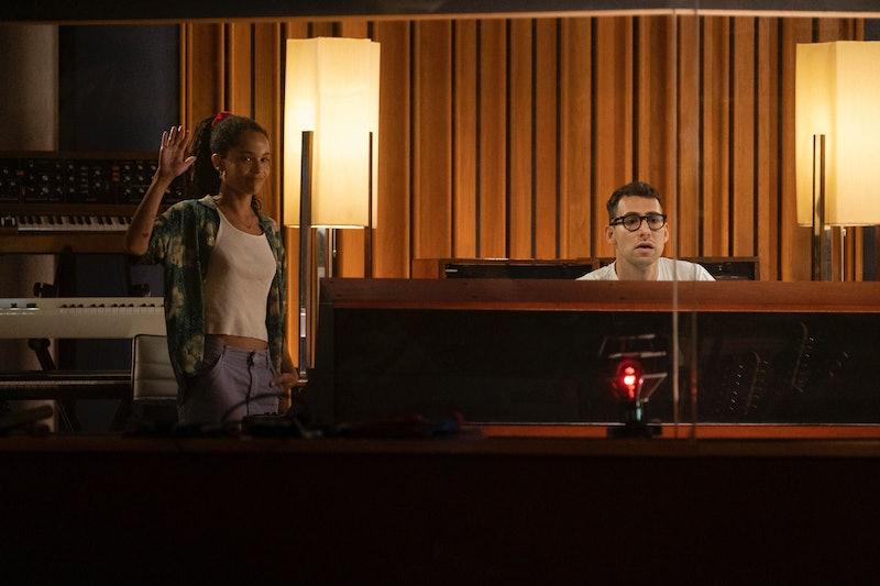 Zoe Kravitz and Jack Antonoff on Hulu's High Fidelity.