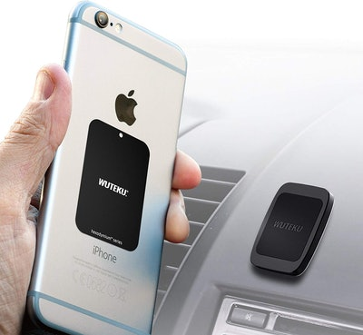 WUTEKU Flat Magnetic Cell Phone Holder