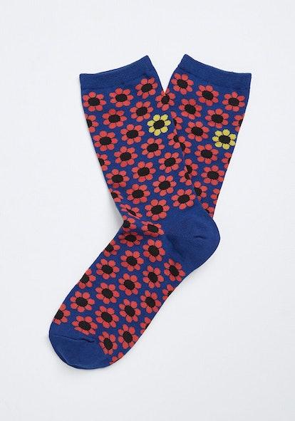 ModCloth Upsy-Daisy Socks