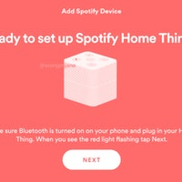Spotify appears to be testing a smart speaker called 'Home Thing'