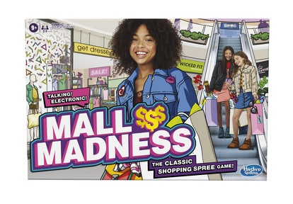 The Mall Madness shopping board game is coming back fall 2020.