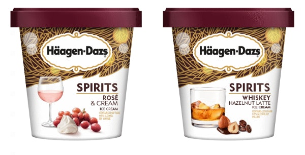 Häagen-Dazs' new 2020 Spirits Collection flavors include a wine-inspired treat.