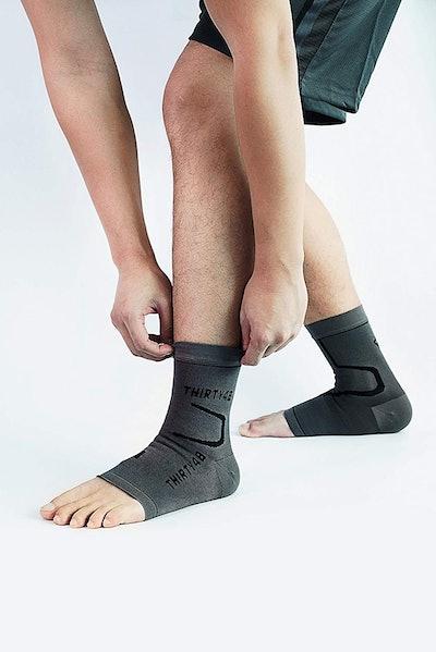 Thirty48 Plantar Fasciitis Compression Socks (2 Pairs)