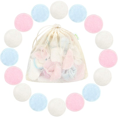Weegreco Reusuable Cotton Rounds (16 Pieces)