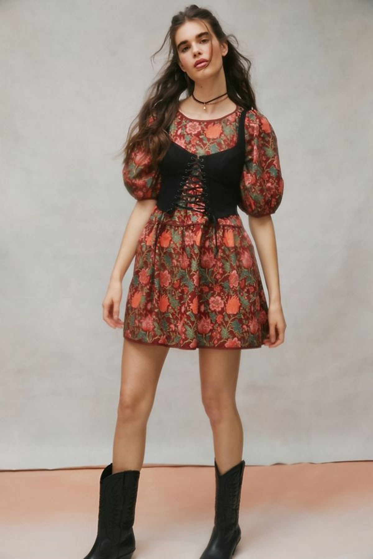 Urban Outfitters Laura Ashley UO Exclusive Tiered Bella Dress