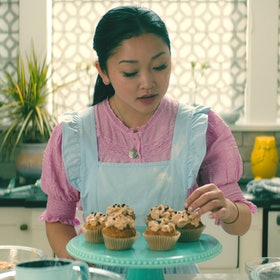 In PS I Still Love You, Lara Jean Covey stress bakes chocolate peanut butter cookies to deal with her feelings for the boys she's loved before.