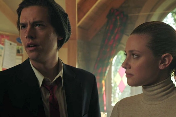 Jughead hinted at a secret plan on 'Riverdale' prior to his supposed death.