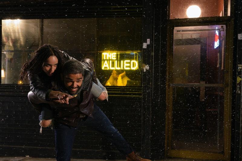 Zoe Kravitz and Kingsley Ben Adir on 'High Fidelity' on Hulu