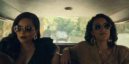 Isabella and Enedina in Narcos: Mexico Season 2