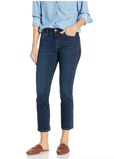 Goodthreads Women's Mid-Rise Crop Straight Jeans