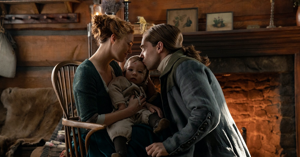 Brianna & Roger Have One Huge Decision To Make In 'Outlander' Season 5