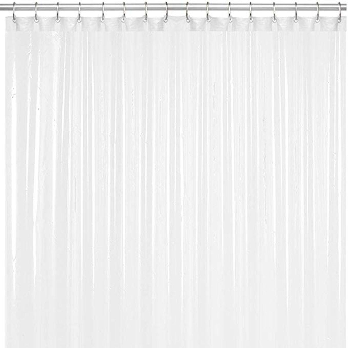 LiBa Anti-Microbial Shower Curtain Liner