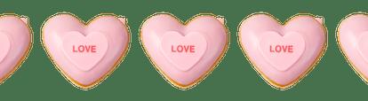 Krispy Kreme is bringing back their conversation heart donuts for Valentine's Day