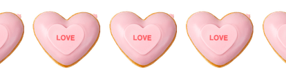 Krispy Kreme is bringing back their conversation heart donuts for Valentine's Day