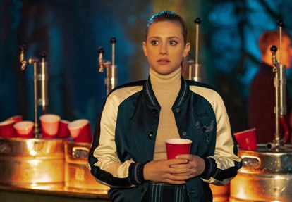 Betty at the Ides of March party on Riverdale