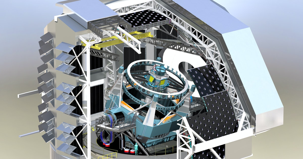 In Chile, a telescope with a car-sized camera is going to change astronomy