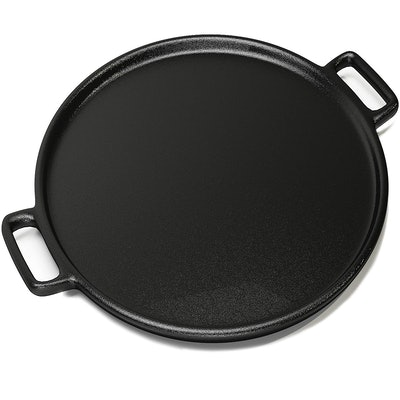 Home-Complete Cast Iron Pizza Pan (14 inches)