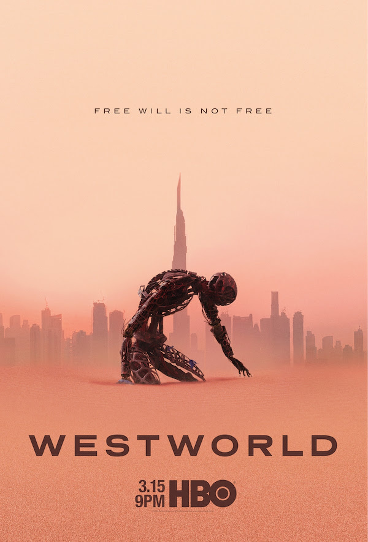 Westworld S3 poster