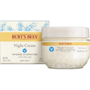 Burt's Bees Intense Hydration Night Cream, 1.8 Oz.