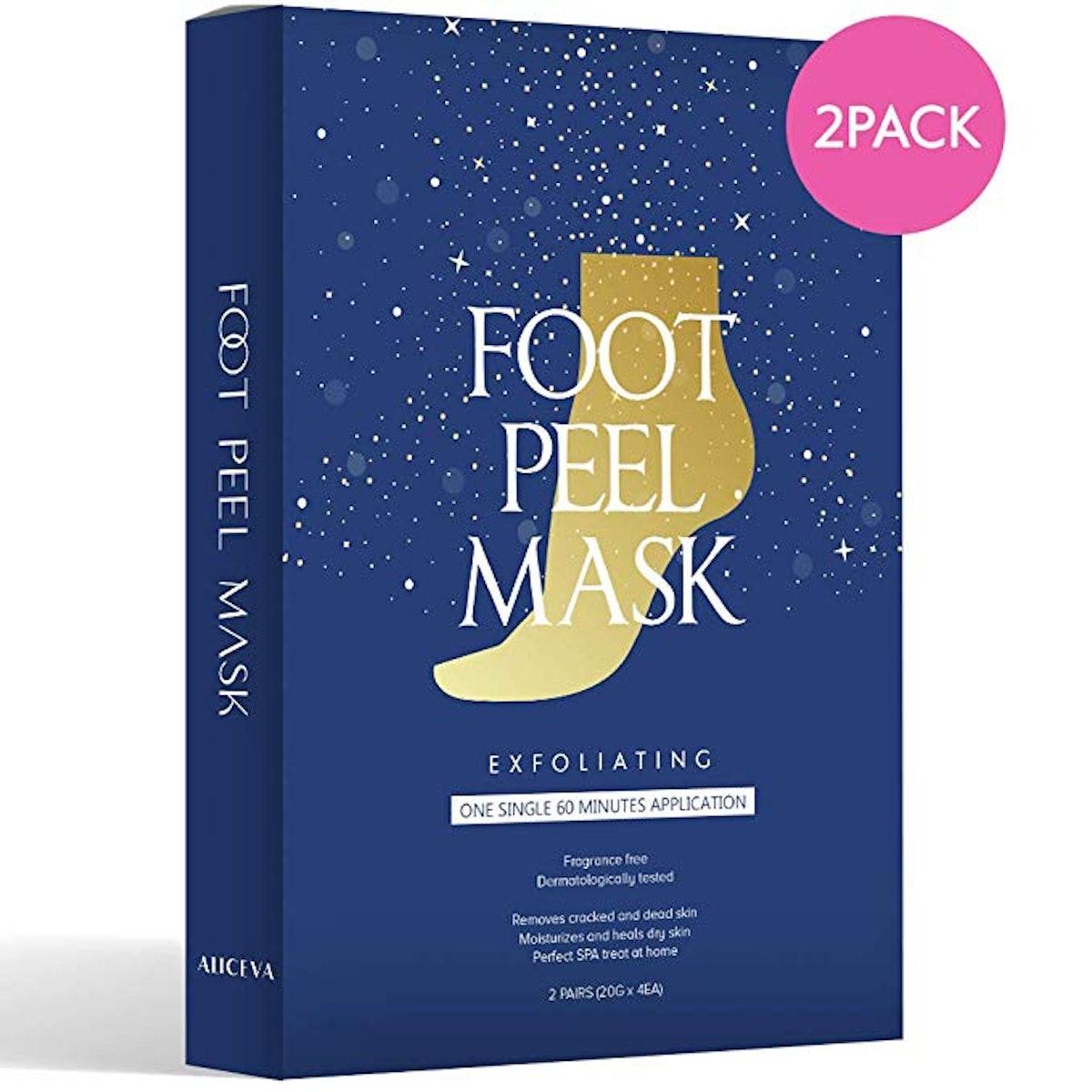 Aliceva One Step Foot Peel Mask (2-pack)