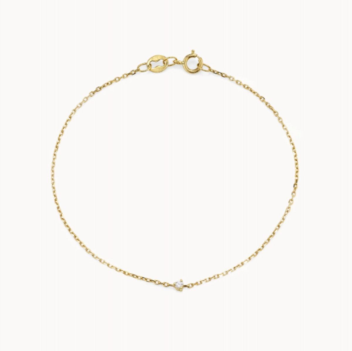Tiny Diamond Bracelet