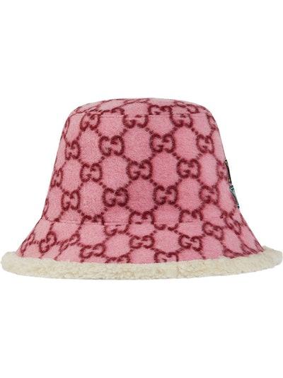 GG Pattern Bucket Hat
