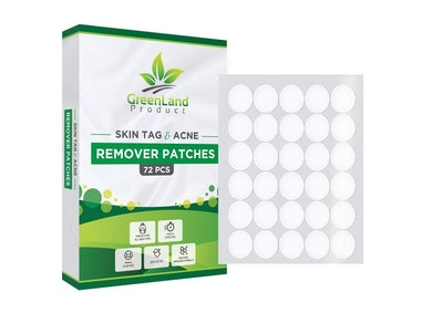 GreenLand Product Skin Tag and Acne Remover Patches (72-pieces)