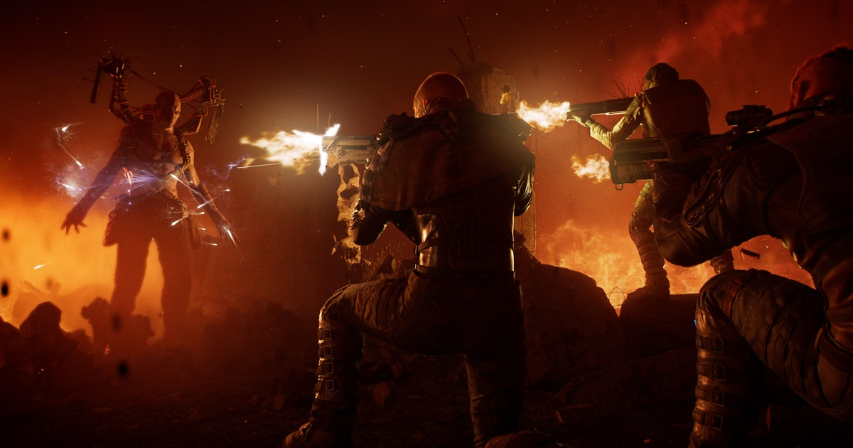 This epic Outriders trailer is the nail in Anthem's coffin