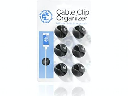 Blue Key World Cable Clip Organizer (6-pack)