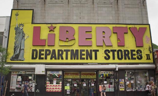 Liberty Department Stores in Ridgewood, Queens
