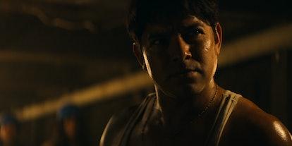 Alejandro Edda plays the notorious drug lord El Chapo in Narcos: Mexico Season 2.