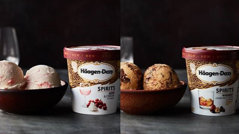 Haagen-Dazs is adding two new flavors to its Spirits Collection.