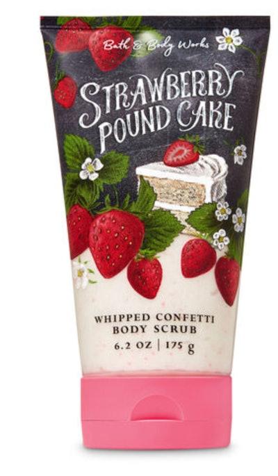 Strawberry Pound Cake body scrub